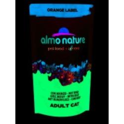 Almo Nature Orange label Cat Beef для кастрированных кошек с говядиной