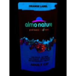 Almo Nature Orange label Cat Chicken для стерилизованных кошек с курицей