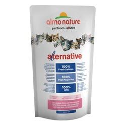 Almo Nature Alternative Salmon and Rice для кошек со свежим лососем, 55% мяса, 750 гр.