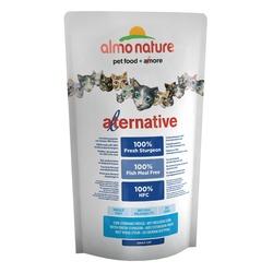 Almo Nature Alternative Sturgeon and Rice для кошек со свежим осетром, 55% мяса, 750 гр.