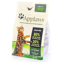 "Applaws беззерновой корм для кошек ""Курица и ягненок 80/20%"", Dry Cat Chicken with Lamb"