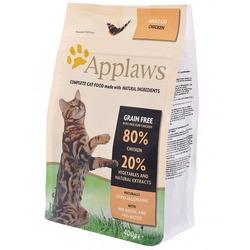 "Applaws беззерновой корм для кошек ""Курица/Овощи: 80/20%"", Dry Cat Chicken"