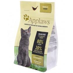"""Applaws беззерновой корм для пожилых кошек """"Курица/Овощи: 80/20%"""", Dry Cat Senior"""