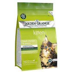 Arden Grange - Kitten (GF) беззерновой сухой корм для котят: курица и картофель