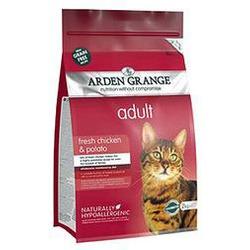 Arden Grange Adult Cat (GF) Chicken & Potato беззерновой сухой корм для взрослых кошек: курица и картофель