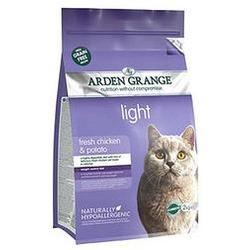 Arden Grange Adult Cat Light (GF) Chicken & Potato: диетический беззерновой сухой корм для взрослых кошек: курица и картофель