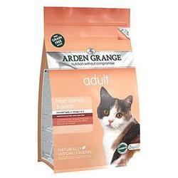 Arden Grange Adult Cat (GF) Salmon & Potato беззерновой сухой корм для взрослых кошек: лосось и картофель