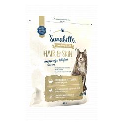 Bosch Sanabelle Hair&Skin корм для кошек, для здоровья и цвета шерсти