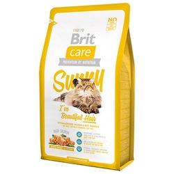 """Brit Care """"Sunny"""" для длинношерстных кошек, лосось и рис, Long Hair Salmon & Rice"""