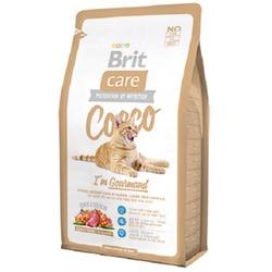 """Brit Care """"Cocco"""" Гипоаллергенный беззерновой корм с мясом утки и лосося для привередливых кошек и кошек с проблемами в потреблении пищи"""