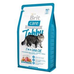 """Brit Care """"Tobby"""" Гипоаллергенный беззерновой корм с уткой и курицей для взрослых кошек крупных пород"""