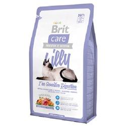 """Brit Care """"Lilly"""" Гипоаллергенный беззерновой корм с ягненком и лососем для кошек с чувствительным желудком"""