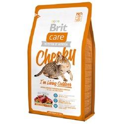 """Brit Care """"Cheeky"""" Гипоаллергенный корм с олениной и рисом для взрослых активных кошек и кошек, гуляющих на улице"""