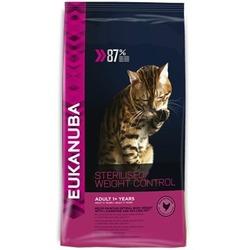 Eukanuba Adult For Overweight/Sterilized для стерилизованных кошек и кошек, склонных к избыточному весу