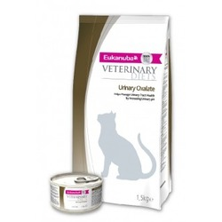 Eukanuba Oxalate Urinary лечебный корм уринари для кошек мочекаменная болезнь оксалаты, 1,5 кг
