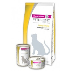 Eukanuba Urinary Struvite для кошек при мочекаменной болезни струвитного типа, 1,5 кг