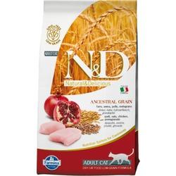 FARMINA N&D LG низкозерновой корм д/кошек Овес, Курица, Гранат (N&D Low Grain Cat Chicken & Pomegranate)