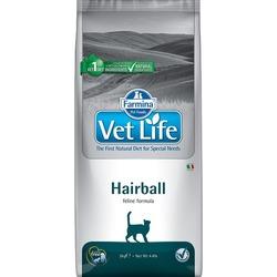 FARMINA Vet Life Hairball корм д/кошек снижает образование и способствует выведению шерстяных комочков из ЖКТ