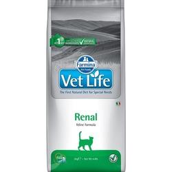FARMINA Vet Life RENAL диета д/кошек при почечной недостаточности, вспомогательное средство в терапии сердечной недостаточности