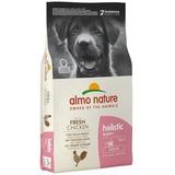 Almo Nature сухой корм для щенков всех пород с курицей, Medium Puppy&Chicken