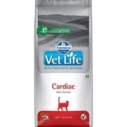FARMINA Vet Life Cat Cardiac диетический сухой корм для кошек для поддержания работы сердца при хронической сердечной недостаточности