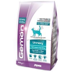 Gemon Cat Urinary корм для профилактики мочекаменной болезни для взрослых кошек с курицей и рисом 400 гр.