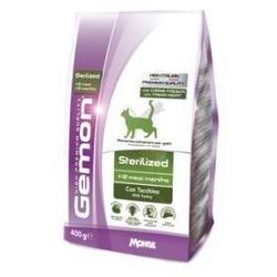 Gemon Cat корм для стерилизованных кошек с индейкой 400 гр.