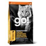 Go Natural holistic Беззерновой сухой корм для котят и кошек с чувствительным пищеварением со свежей уткой (Sensitivity + Shine Grain Free Duck Cat Recipe 31/15)