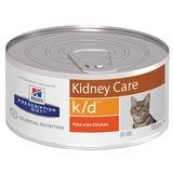 Hill`s K/D диетический влажный корм для кошек- лечение заболеваний почек, Prescription Diet Feline k/d