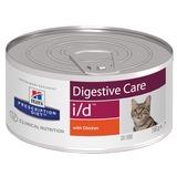Hill`s I/D диетический влажный корм для кошек- для лечения заболеваний ЖКТ, Hill's Prescription Diet Feline i/d Canned Food