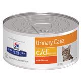 Hill`s C/D диетический влажный корм для кошек- для лечения и профикактики МКБ, Prescription Diet Feline c/d Multicare