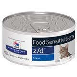 Hill`s Z/D диетический влажный корм для кошек- для лечения и профикактики пищевых аллергий