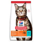Hill's для взрослых кошек с тунцом, Science Plan Feline Adult Optimal Care with Tuna