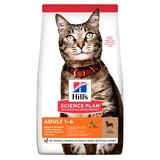 Hill's сухой корм для взрослых кошек с ягненком, Science Plan Feline Adult Optimal Care with Lamb