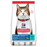 Hill's для пожилых кошек старше 7 лет с тунцом, Science Plan Feline Mature Adult 7+ Active Longevity with Tuna, 2 кг