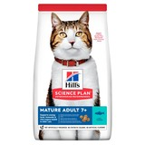 Hill's сухой корм для пожилых кошек старше 7 лет с тунцом, Science Plan Feline Mature Adult 7+ Active Longevity with Tuna