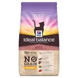 Hill's Ideal Balance беззерновой корм с курицей и картофелем для взрослых кошек, Feline Adult No Grain