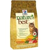 Hill's Nature's Best сухой корм для взрослых кошек с курицей и овощами, Feline Adult Chicken