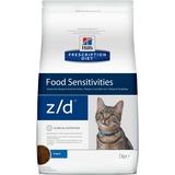 Hill`s Z/D диетический сухой корм для кошек- лечение пищевых аллергий, для кошек