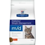 Hill`s M/D диетический сухой корм для кошек- лечение сахарного диабета, ожирения, для кошек
