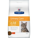 Hills C/D диетический сухой корм для кошек- профилактика МКБ, струвиты