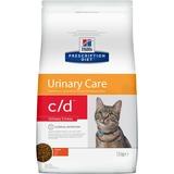 Hills C/D диетический сухой корм для кошек- стресс при цистите, Feline Urinary Stress