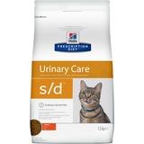Hills S/D диетический сухой корм для кошек- профилактика МКБ струвиты, для кошек