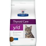 Hill`s y/d диетический сухой корм для кошек- лечение гипертиреоза для кошек
