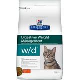 Hill`s W/D диетический сухой корм для кошек- лечение сахарного диабета, колита, для кошек