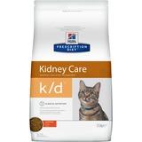 Hill`s K/D диетический сухой корм для кошек- лечение заболеваний почек, профилактика МКБ, оксалаты, ураты