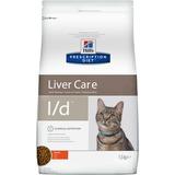 Hill`s L/D диетический сухой корм для кошек- лечение заболеваний печени, для кошек