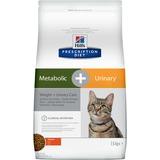 Hill`s Metabolic + Urinary диетический сухой корм для кошек- профилактика повторного проявления основных признаков заболеваний нижнего отдела мочевыводящих путей