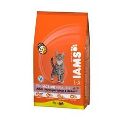 Iams ProActive Health™ Adult с лососем и курицей сухой корм для взрослых кошек