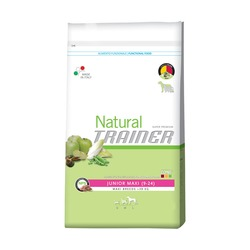 Trainer Natural Maxi Junior ДЛЯ ЮНИОРОВ КРУПНЫХ И ГИГАНТСКИХ СОБАК ОТ 9 МЕСЯЦЕВ ДО 2 ЛЕТ